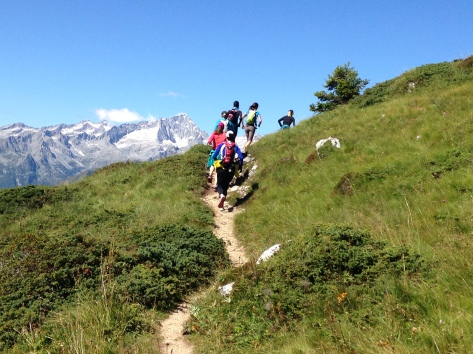 Chasing Franco in the Dolomites