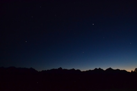 Night sky over the Andes, July 2014 (Photo Credit: Kapp Singer)